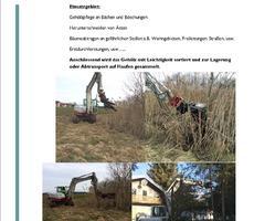 Kultivator/Baumschere - Gehölzpflege an Bächen und Böschungen