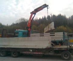 Furtner Transporte und Erdbau – Kranarbeiten in Salzburg