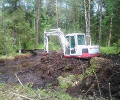 Erdarbeiten in Lamprechtshausen nahe Salzburg – Erdbau vom Spezialisten