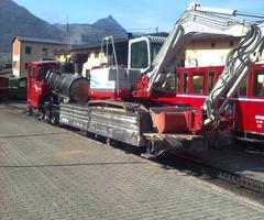 Erdarbeiten in Lamprechtshausen nahe Salzburg